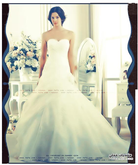 فساتين للعروس 2014