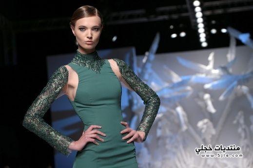 ازياء سهرة لبنانية 2014
