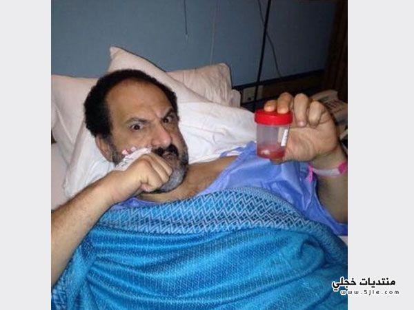 خالد الصاوي يجري عمليه جراحية