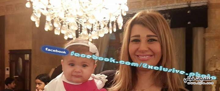 صورة يارا نعوم ابنتها تمارا
