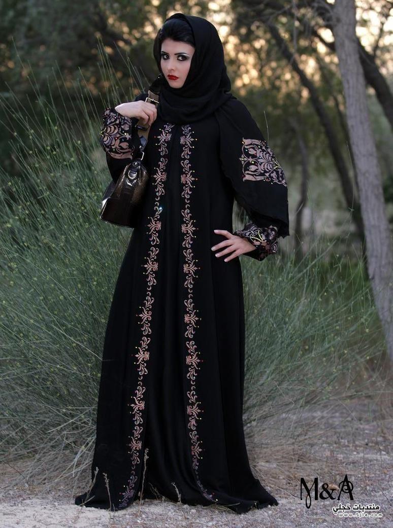 عبايات خروج واستقبال 2014