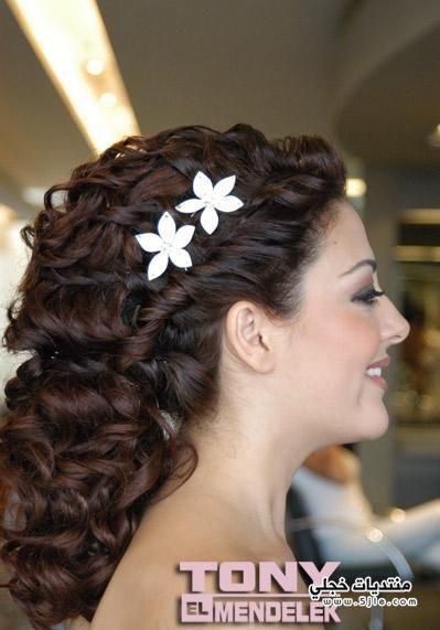 تسريحات وقصات للعروس 2014