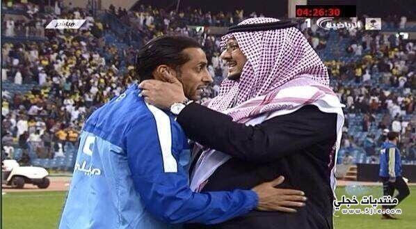 فرحة سامي الجابر الفوز النصر