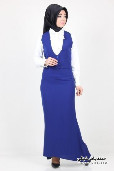 ملابس محجبات باللون الازرق 2016