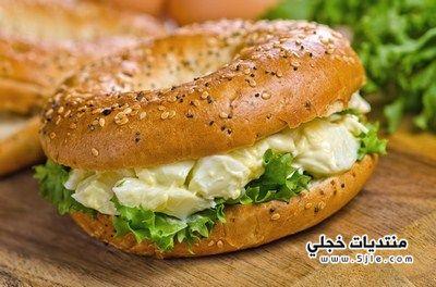 طريقة ساندويتش سلطة البيض