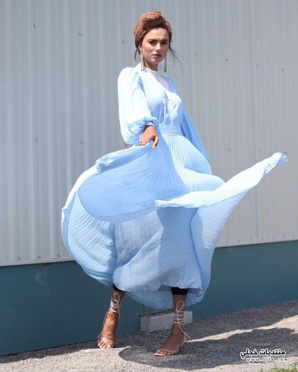 تنسيق الفساتين الكاجوال