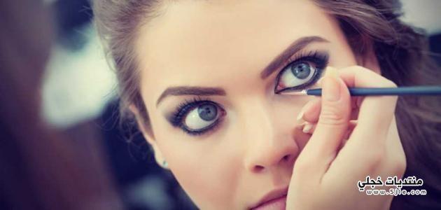 طريقة الكحل لتكبير العيون