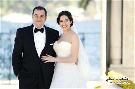 زواج اوزجي بوراك زفاف الممثلة