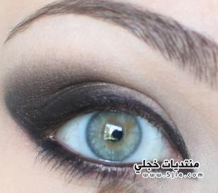 مكياج دخاني للعيون مكياج عيون