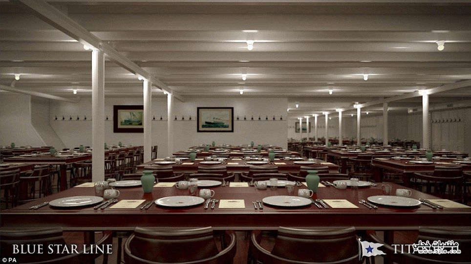 تصميم تايتنك Titanic Ship Design