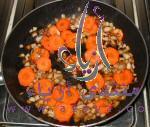 اللحم بالخضر والبرتقال اطباق عربيه