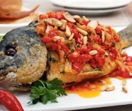 وصفة بالخضار طريقة بالخضار fish
