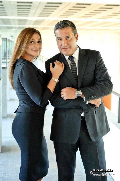 اليسا وخطيبها 2013 اليسا وخطيبها