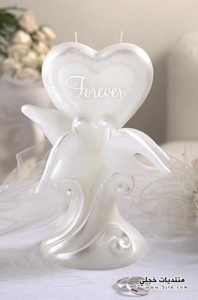 شموع للعروس 2013 شموع عرسان
