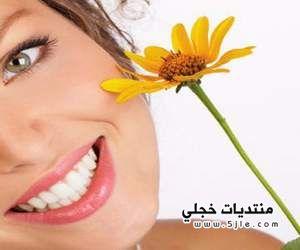 خلطة لتبييض الاسنان تفتيح الاسنان