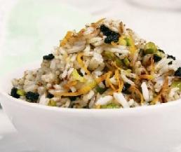 الأرز الحامض والحلو طريقة الأرز