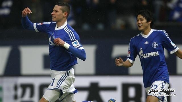 شالكة يفوز دورتموند الدوري الالماني