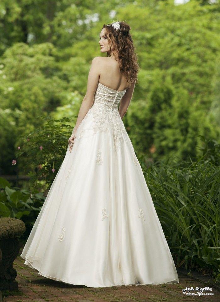 فساتين زفاف جديدة 2014 اجمل