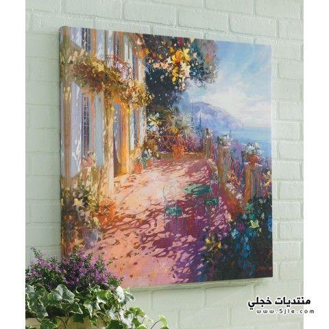 ديكورات منازل 2014 لوحات جميله