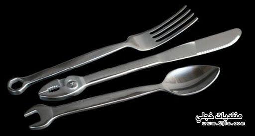 ملاعق عجيبة غريبة سكاكين مميزة