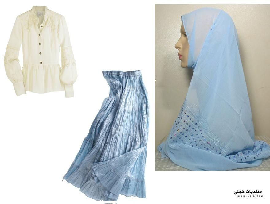 كولكشن كامل للمحجبات اروع ملابس