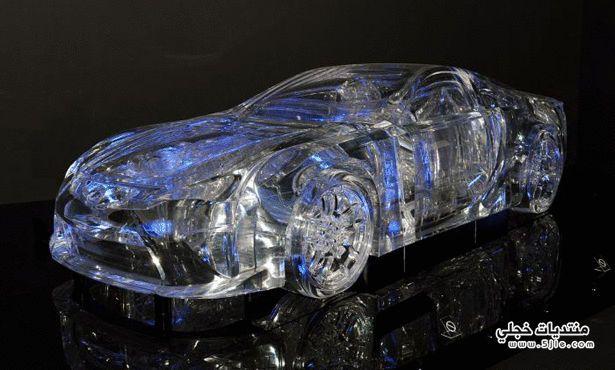 سيارة لكزس الشفافه 2014 سيارة