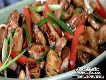 صينية الخضار باللحمة 2014 Vegetbles