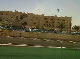 حريق جامعة نورة بالرياض 1434