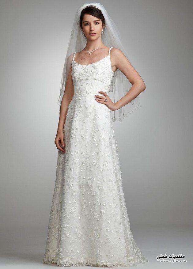 بالصور موديلات فساتين زفاف بالدانتيل