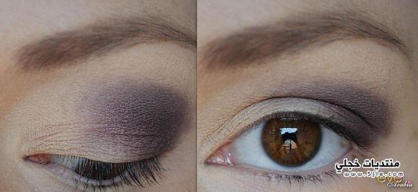 مكياج بلون التوت ناعم Makeup