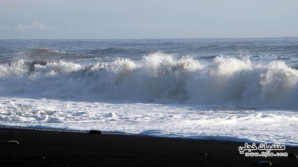 شاطئ الظلام ايسلندا 2014 شاطئ