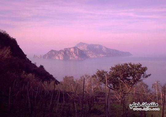 جزيرة كابري الايطاليه 2014 جزيرة