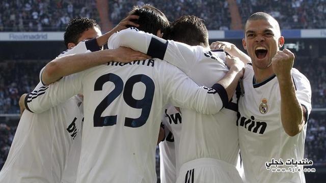 ريال مدريد يفوز برشلونة الدوري