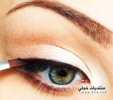 مكياج عيون مكياج بسيط للعيون