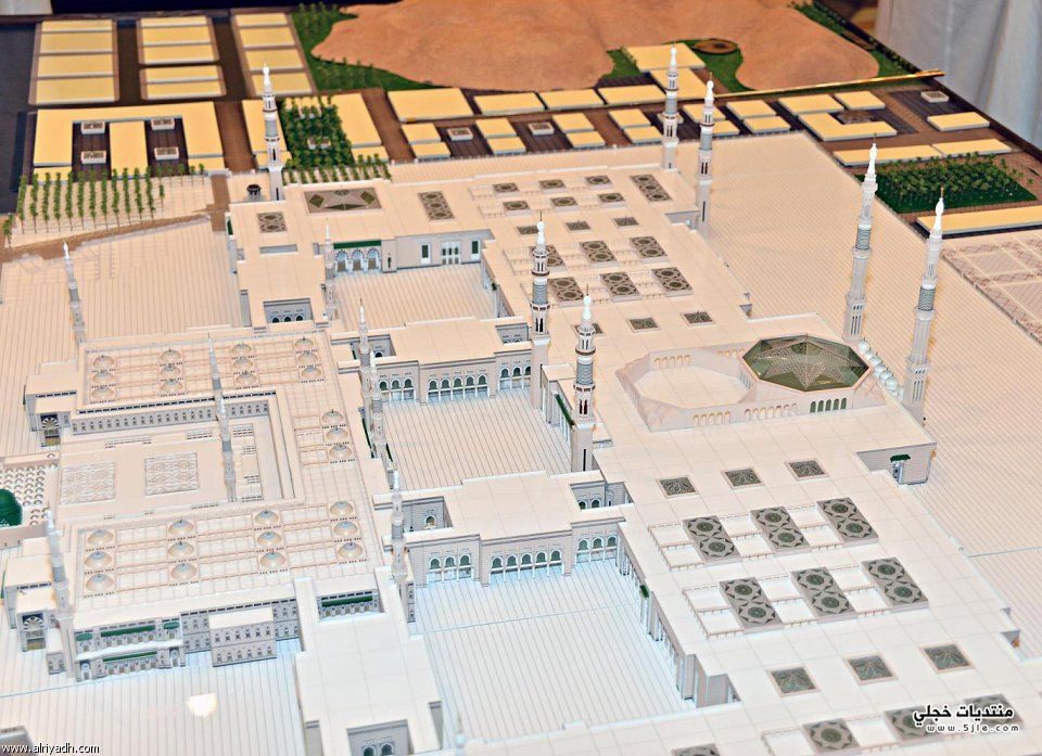 نشاهد روعة التوسعة الكبرى للمسجد