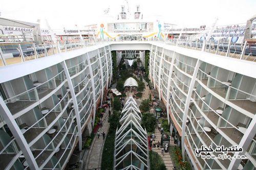 اكبر سفينة سياحية فخمة 2014