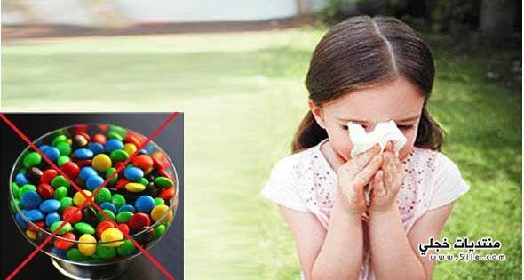الالوان الصناعية تقلل مناعة الطفل