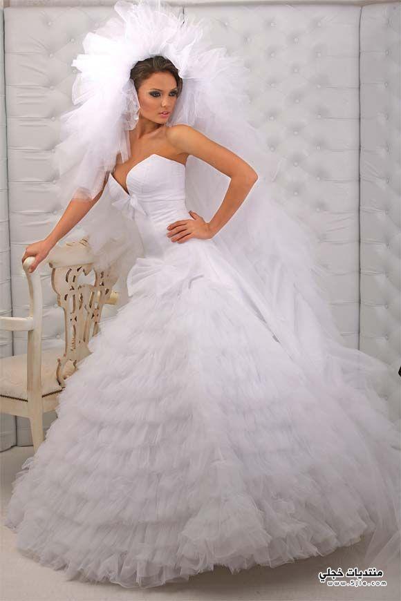 فساتين زفاف 2014 فساتين زفاف