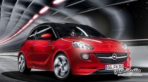 سيارة Opel Adam القويه 2014