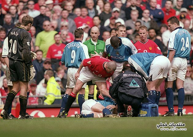 جرائم القدم اصابات القدم اشهر