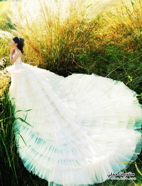 فساتين عروس ازياء عروس موضة