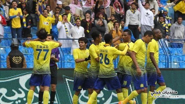 النصر يفوز الدوري السعودي 2014