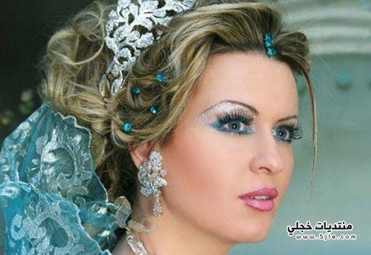 مكياج عروس ثلجي 2014 ثلجي