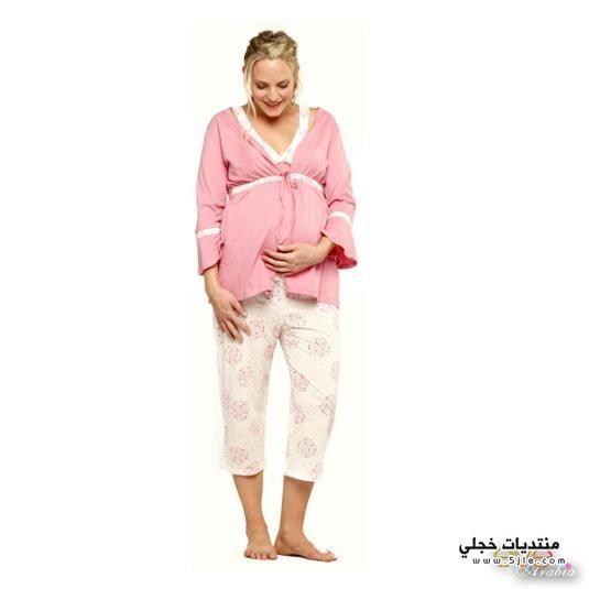 ملابس للحوامل 2015 ملابس للنوم