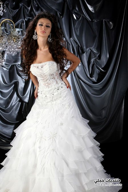 فساتين زفاف 2015 فساتين اعراس
