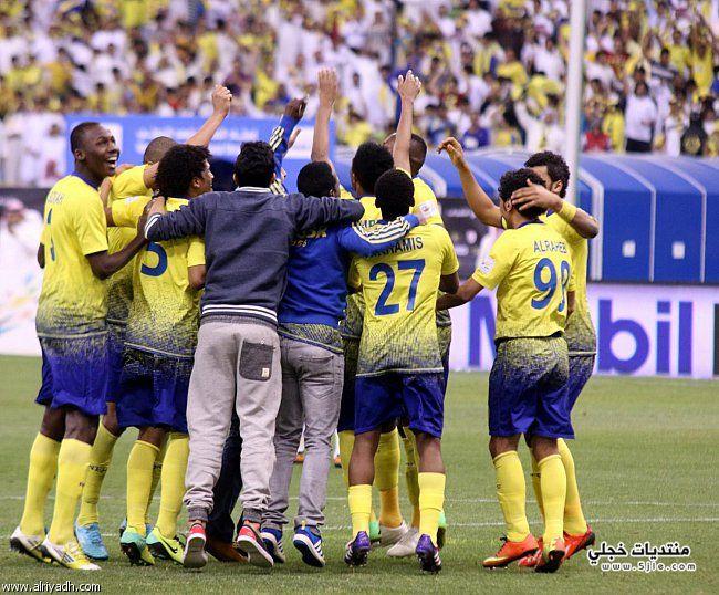 النصر يتوج بطلا لدوري عبداللطيف