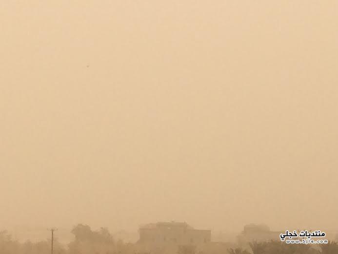 موجة غبار نجران 2014 غبار