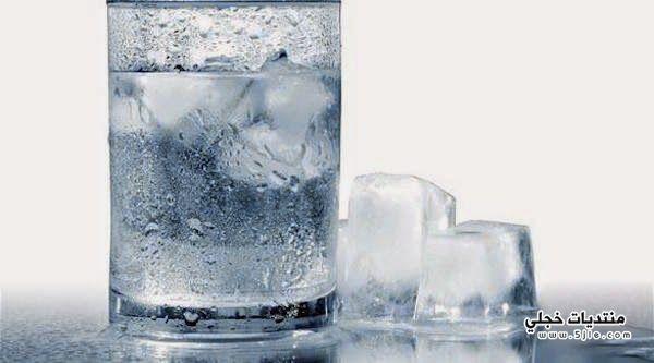 اضرار الماء البارد