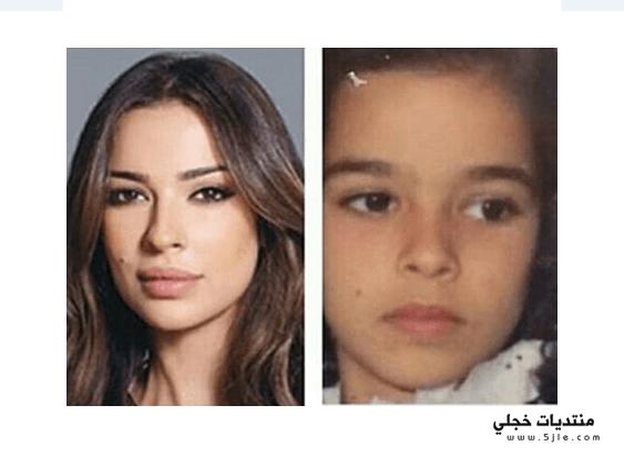 نادين نجيم طفولتها