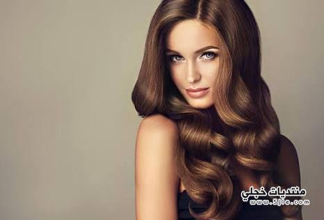 وصفات طبيعية للمعان الشعر